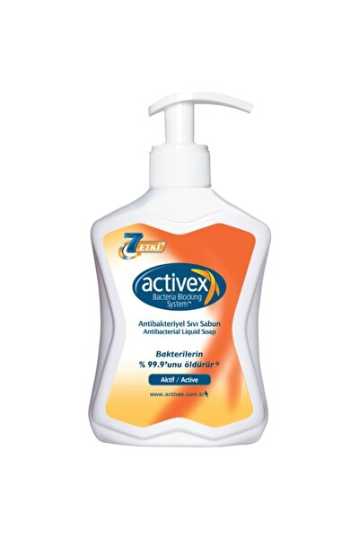 Antibakteriyel Sıvı Sabun Aktif 300 ml
