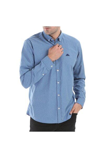 Erkek İndigo Renaza Rdk Gömlek
