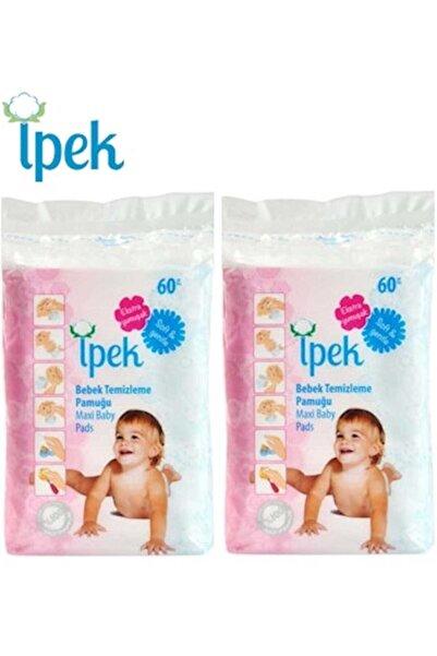 Bebek Temizleme Pamuğu 120 Adet (2pk*60)