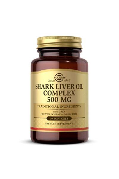 Shark Liver Oil Complex 500 Mg 60 Kapsül