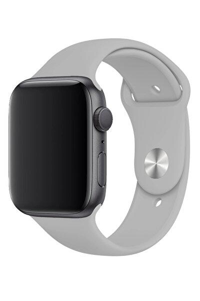 Apple Watch 44mm A+ Yüksek Kalite Spor Klasik Silikon Kordon Kayış Bileklik