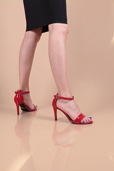 Kadın Kırmızı Selena Topuklu Sandalet