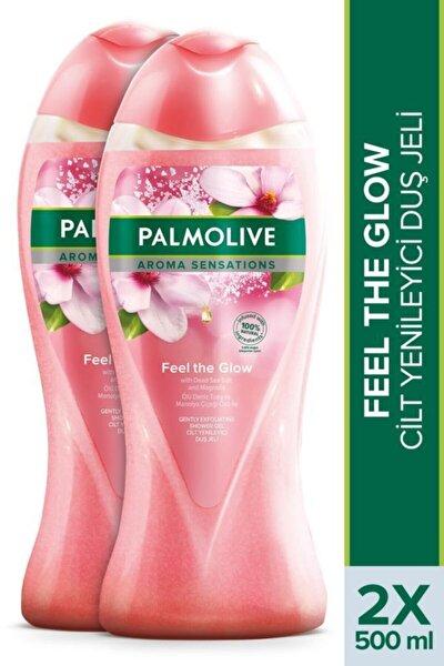 Aroma Sensations Feel Glow Peeling Etkilli Banyo Ve Duş Jeli 2 X 500 Ml