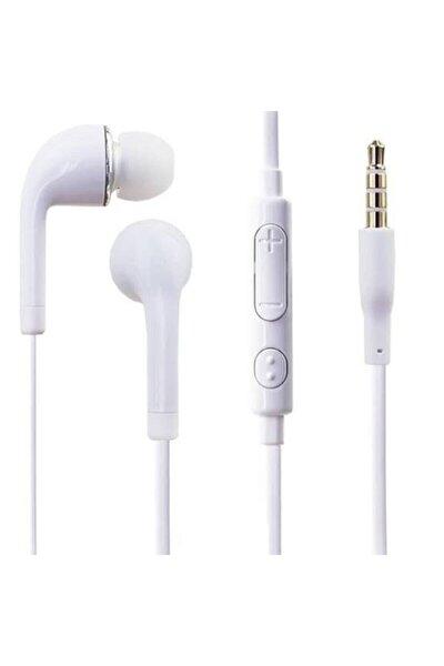 Beyaz Mikrofonlu Kulakiçi Kulaklık