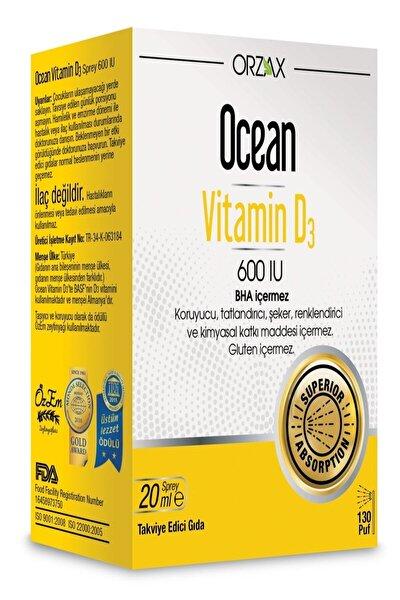 Vitamin D3 600 Iu 20 Ml