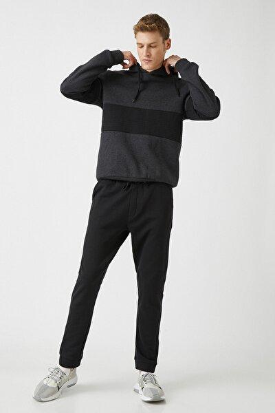 Erkek Siyah Eşofman Altı 1KAM41900LK