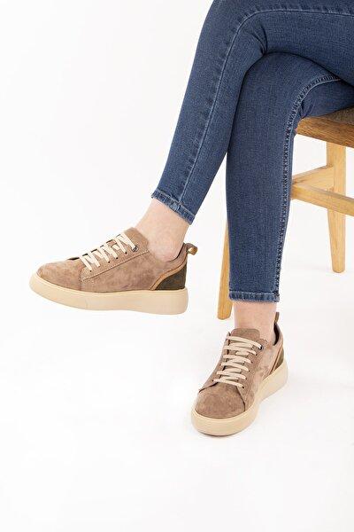 Kadın Vizon Süet Ayakkabı