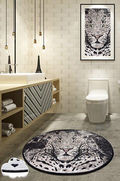 Tıger Djt Çap 100 Cm Banyo Halısı