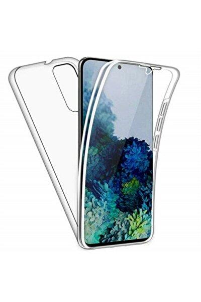 Teleplus Galaxy A31 Kılıf 360 Ön Arka Silikon Şeffaf
