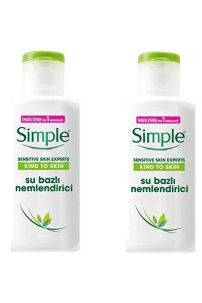 Sensitive Skin Experts Su Bazlı Nemlendirici 125 Ml X 2 Adet 7777777177442