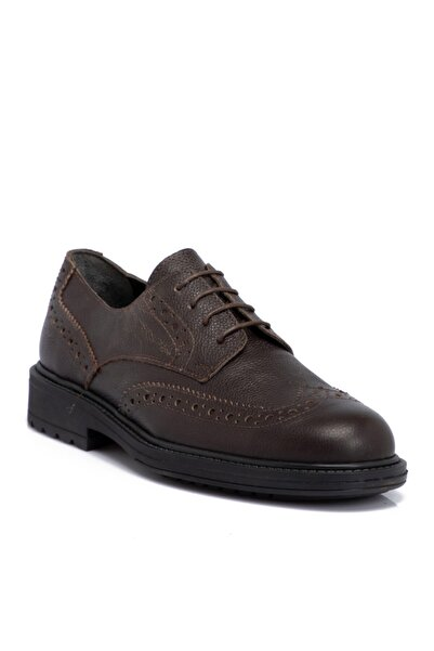 Kahverengi Deri Erkek Ayakkabı 55017a42