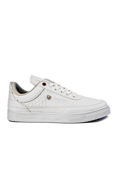 Erkek Beyaz Spor Ayakkabı Full