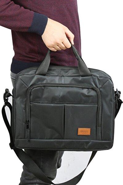 """Bags 15.6"""" Gri Evrak Bilgisayar Notebook Laptop Çantası"""