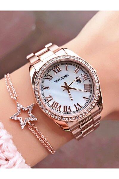 Taşlı Takvimli Kadın  Saat