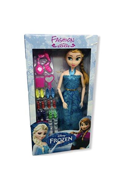 Frozen Bebek Müzikli Işıklı Ayakkabı Aksesuarlı Sonsuz Haraketli Bebek 29 Cm