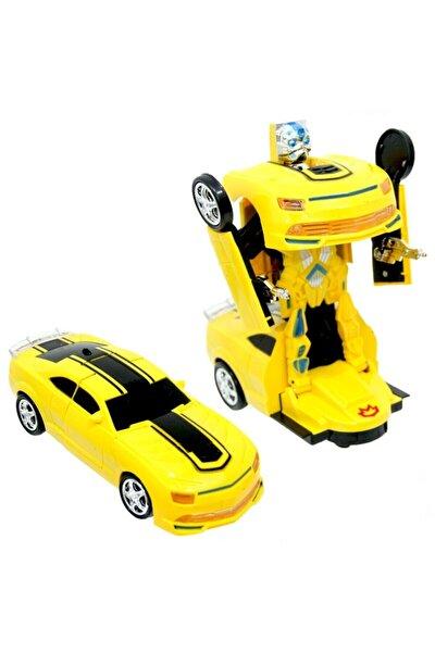 Sports Car Pilli Robota Dönüşen Araba