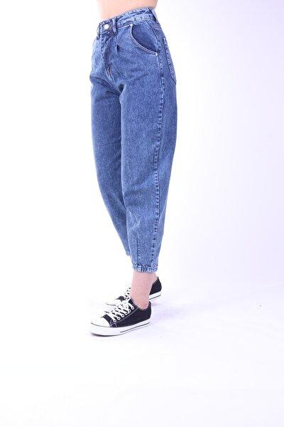 Kadın Yüksek Bel Balloon Jeans