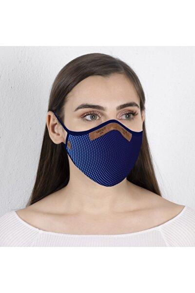 Giyilebilir Tasarım Bez Maske -kadın- Optik Desen