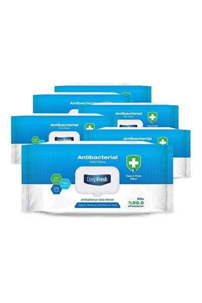 Antibakteriyel Islak Mendil 6'lı Paket Toplam 600 Yaprak