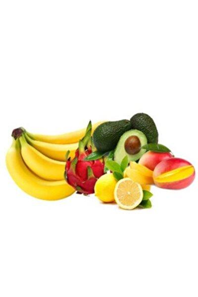 Meyve Sepeti 4 Kg Muz 4 Adet Avakado 3 Kg Portakal 3 Kg Limon