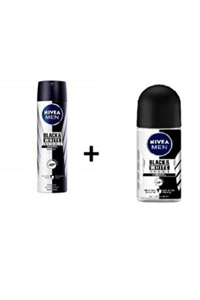 Men Black White Invısıble Orıgınal Deodorant - Men Black White Invısıble Roll-on