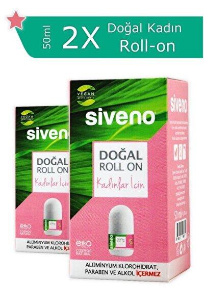 Doğal Roll On Kadınlar Için 50 ml 2 Adet