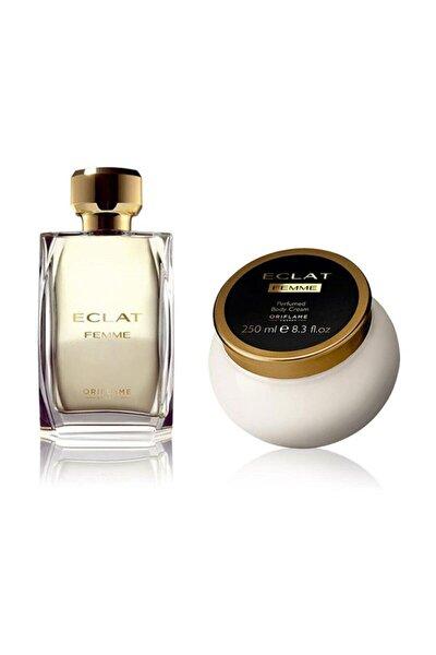 Eclat Femme Edt 50 Ml Kadın Parfümü + Eclat Vücut Kremi 5262645956141