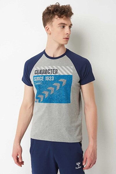 Erkek T-Shirt - Hmlgrover T-Shirt S/S Tee
