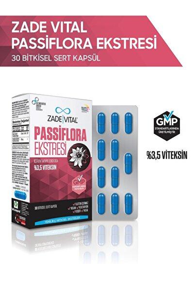 Passiflora Ekstresi 30 Bitkisel Kapsül