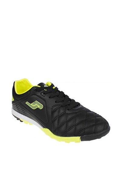 Siyah Neon Yeşil Erkek Halı Saha Ayakkabı/Krampon