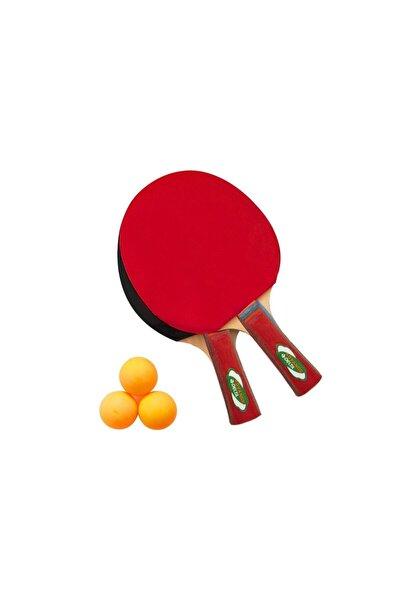 Masa Tenisi Seti - 2 Masa Tenisi Raketi + 3 Pinpon Topu