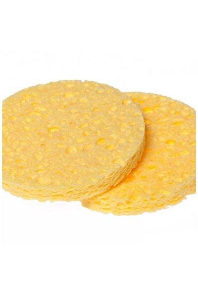 Sarı Yüz Temizleme Süngeri Oval 2'li