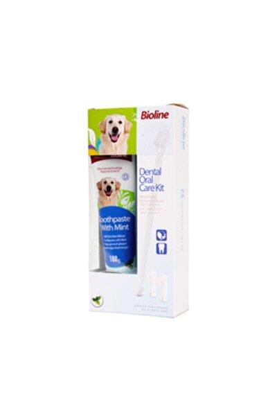 Köpek Diş Macunu Ve Diş Bakım Seti Nane Aromalı 100 gr