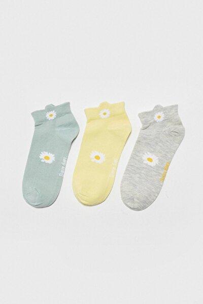 Kadın Uçuk Su Mavisi LCW DREAM Patik Çorap