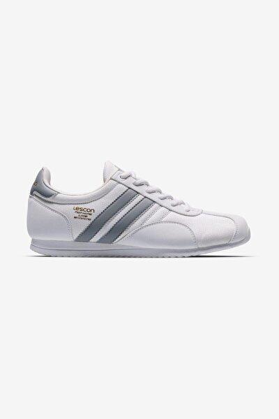 Erkek Beyaz Campus Sneaker Ayakkabı