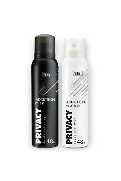Man & Woman Addiction Erkek Ve Kadın Deodorant 2x150ml