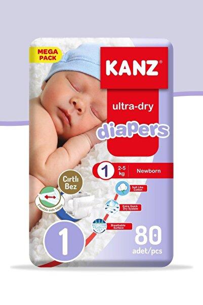 Unisex Bebek Bezi 1 Numara Yenidoğan 80 Adet