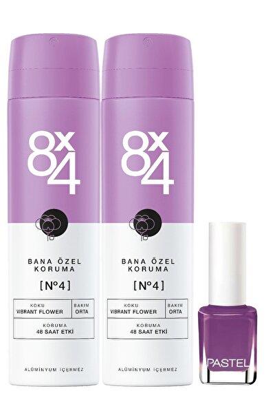 Nıvea 8x4 Sprey No.4 150ml X2 +pastel Oje - 51