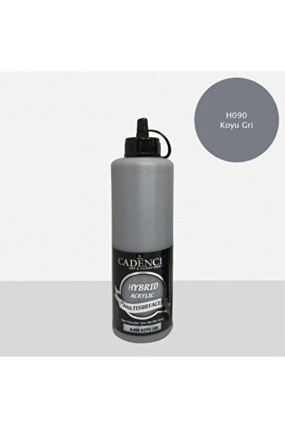 Hybrid Multisurface Akrilik Boya 500 Ml. H-090 Koyu Gri