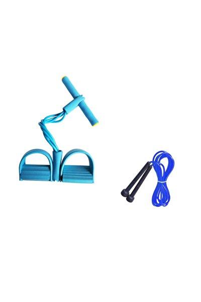 Body Trimmer Kürek Çekme + Atlama Ipi Egzersiz Seti