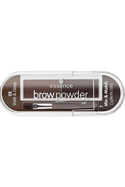 Brow Powder - Kaş Farı No: 02 Dark/ Deep