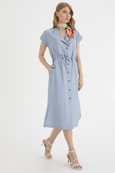 Kolu Apoletli Elbise
