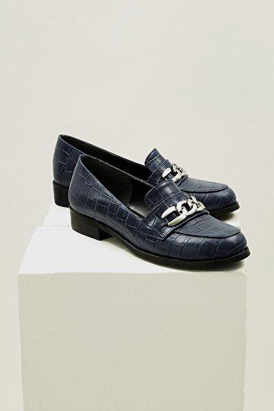 Kadın Lacivert Bristol Oxford Ayakkabı