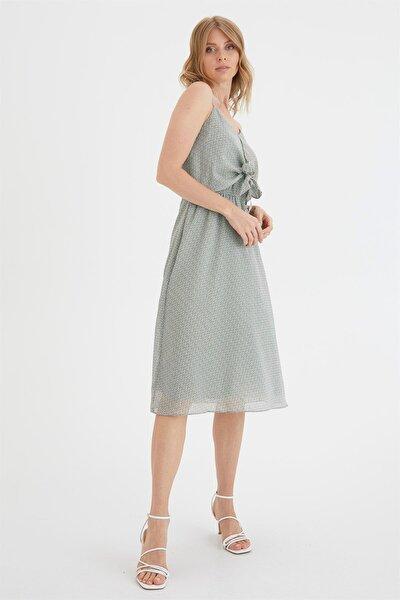 Önü Bağlamalı Elbise
