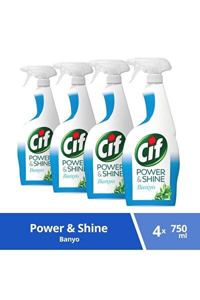 Power & Shine Banyo Sprey Temizleyici 750 ml X 4 Adet