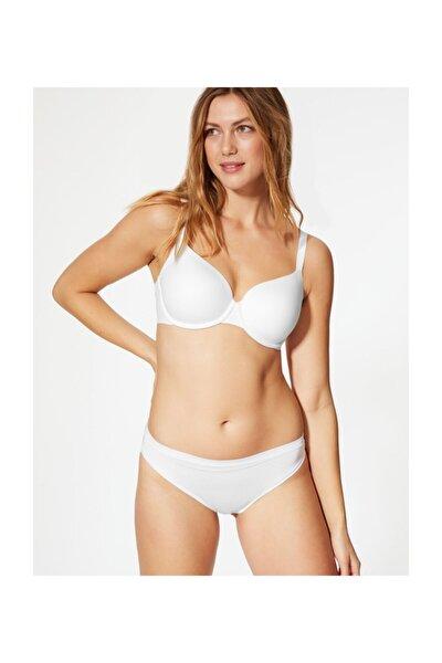 Kadın Beyaz Yumuşak Full Cup T-Shirt Sütyeni T33002051