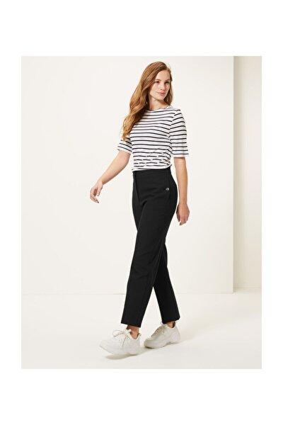 Kadın Siyah 7/8 Evie Straight Pantolon T59005551