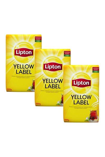 Yellow Label Dökme Çay 1000 gr X 3 Adet