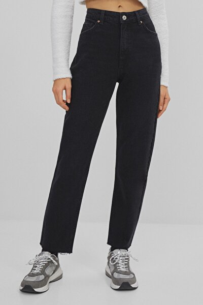 Kadın Siyah Slim Fit Jean