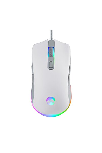 Everest Sgm-l1 Lumos Usb Beyaz/gri 6400 Dpi Gaming Oyuncu Mouse